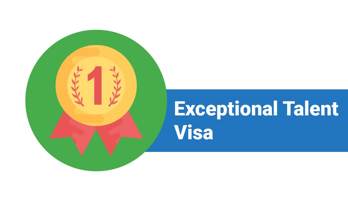 Tier 1 (Exceptional Talent) Visa